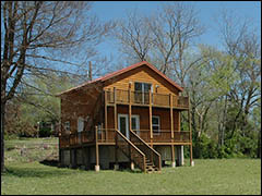 Vacation Rental at Pineville MO on the Elk River