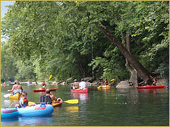 Enjoy Canoeing, Kayaking and Rafting on the Elk River