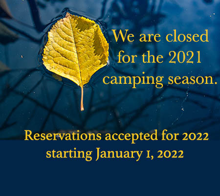 closed for 2021